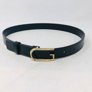 Gucci Leather Gold G Buckle Belt 2349-5-101519
